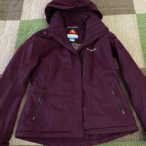 Columbia omni-tech waterproof breathable jacket